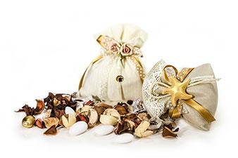 Raffinati sacchetti per nozze d'oro